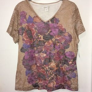 NWT Women's Coldwater Creek Top Size L/14